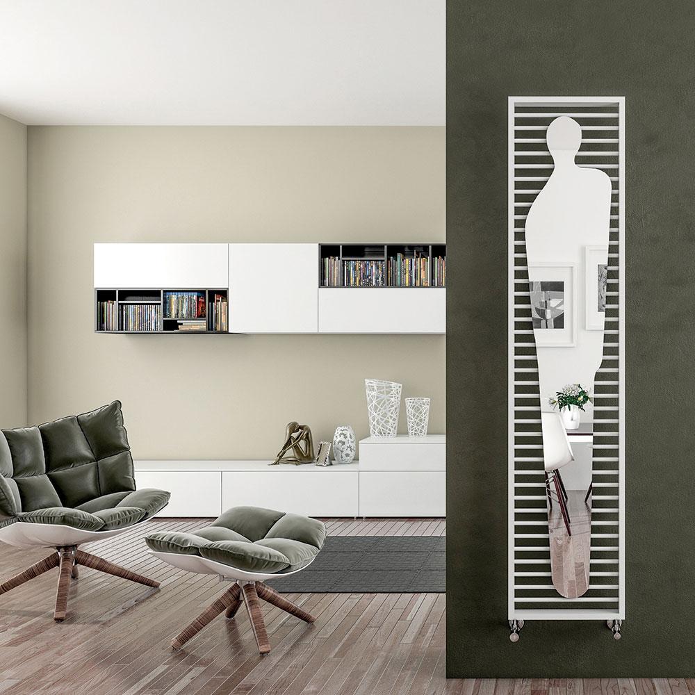 Silhouette radiator