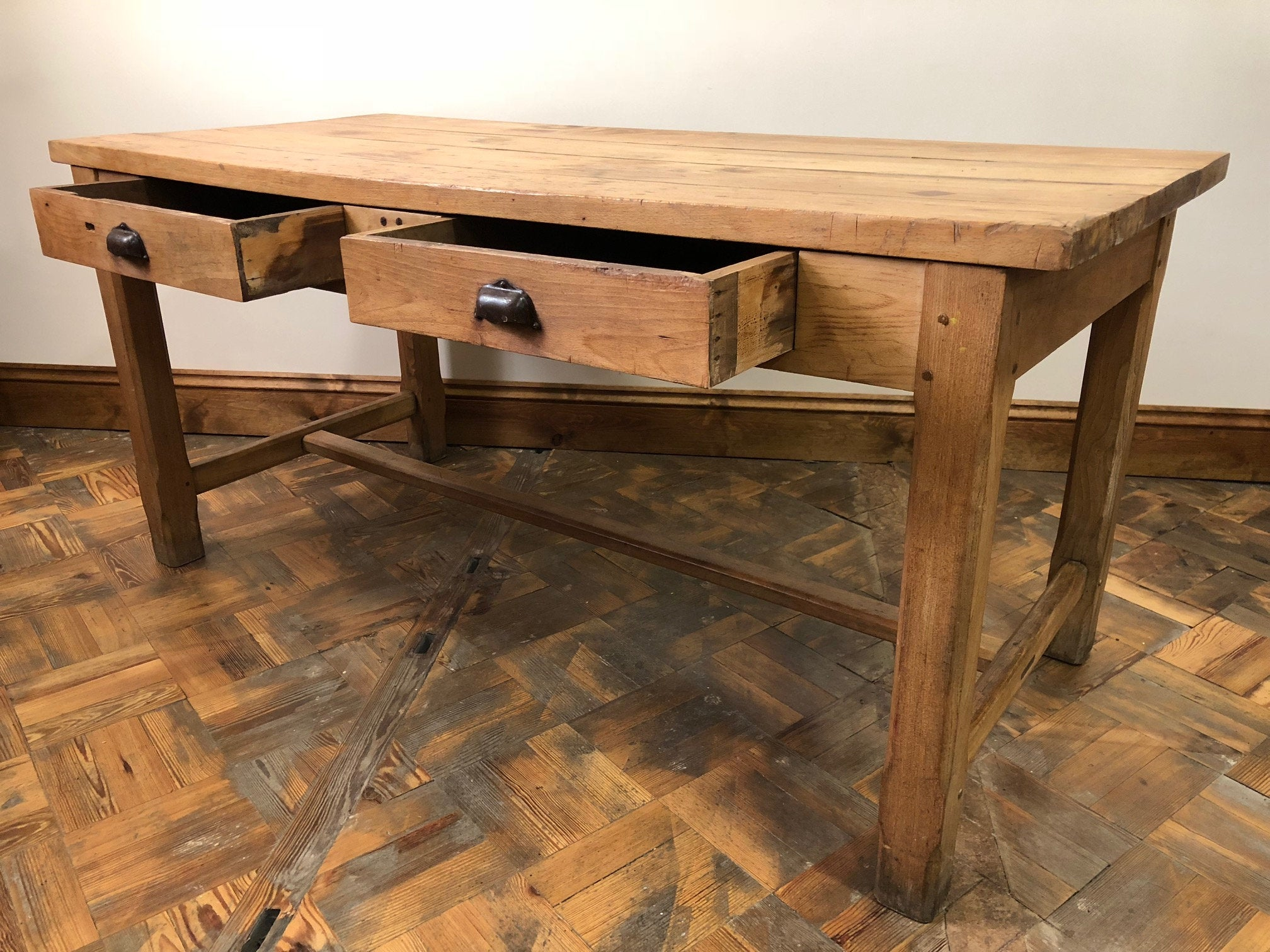 Antique dairy table, £775, Etsy.