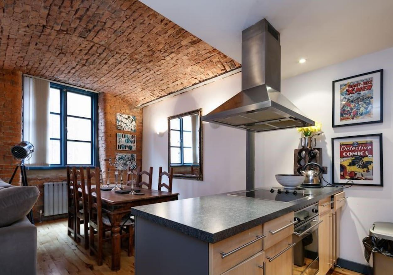 one-bedroom flat in the sought after Chorlton Mill conversion, Manchester. Image: Rightmove
