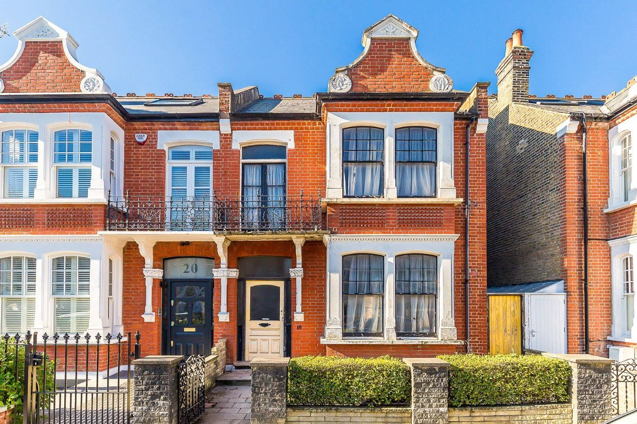Airedale Avenue; on sale for £1.8 million. Image: Savills