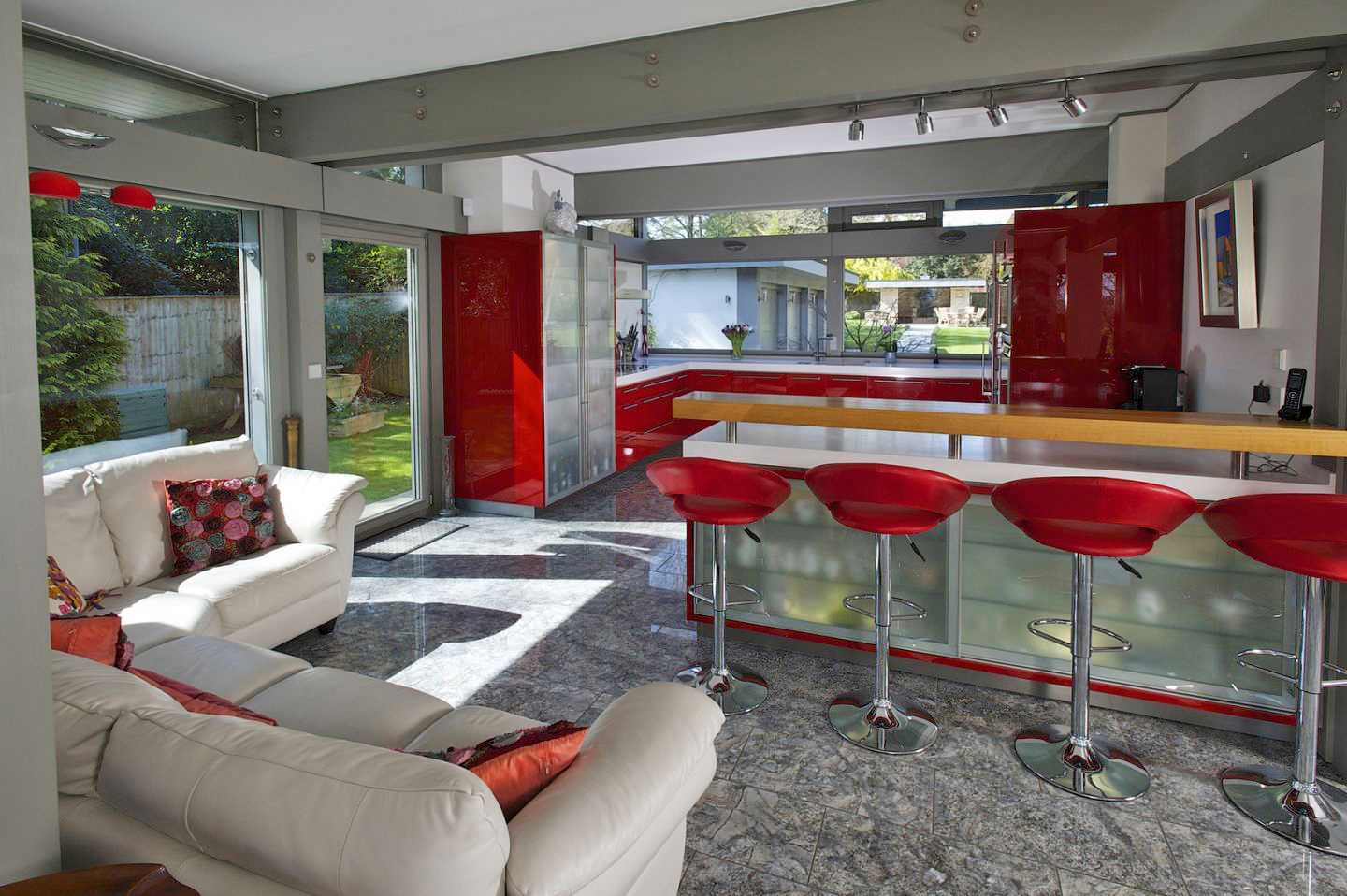 Open plan kitchen in £3m house put up as a raffle prize