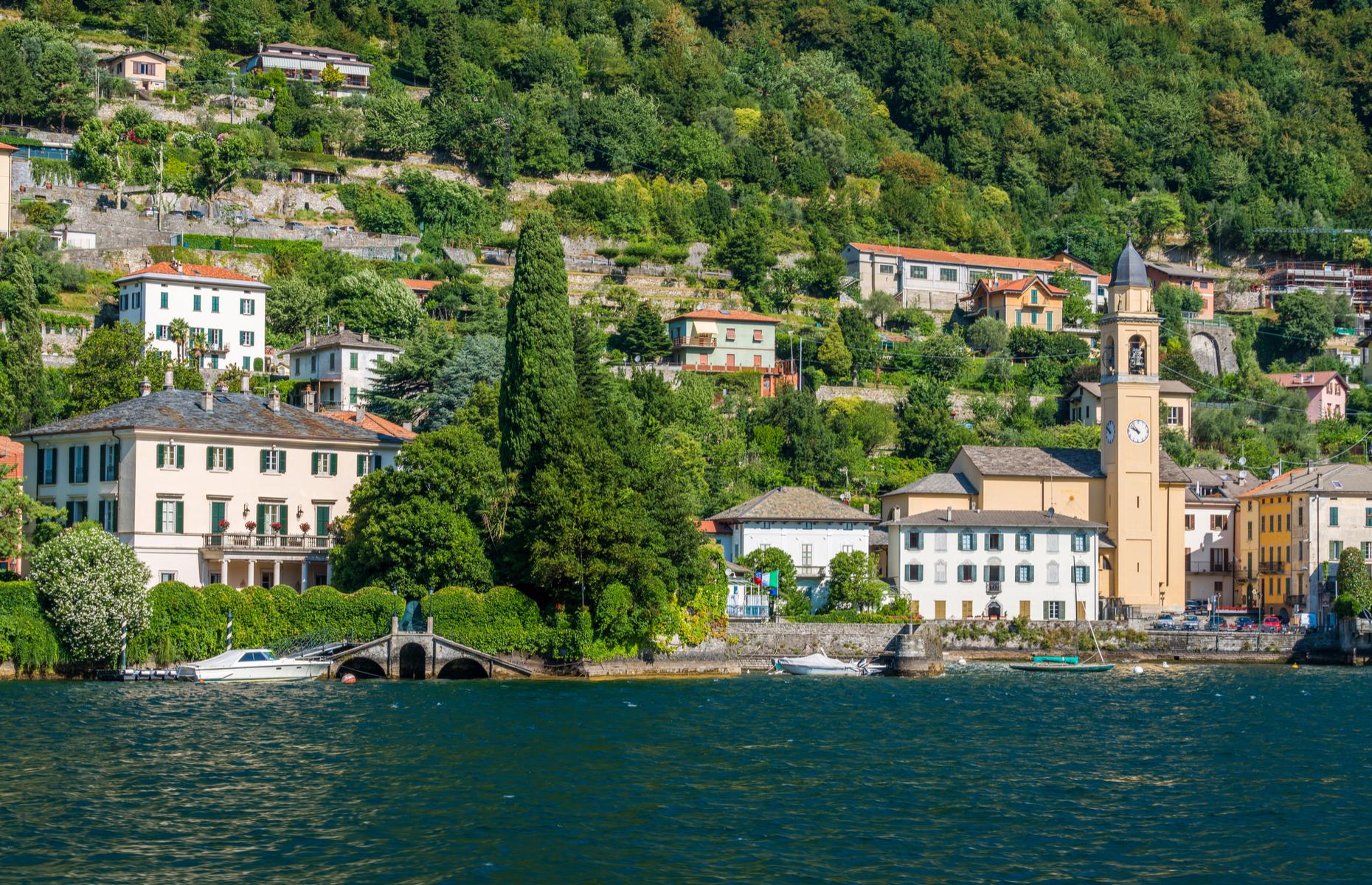 Villa Oleandra on Lake Como. Image: Shutterstock