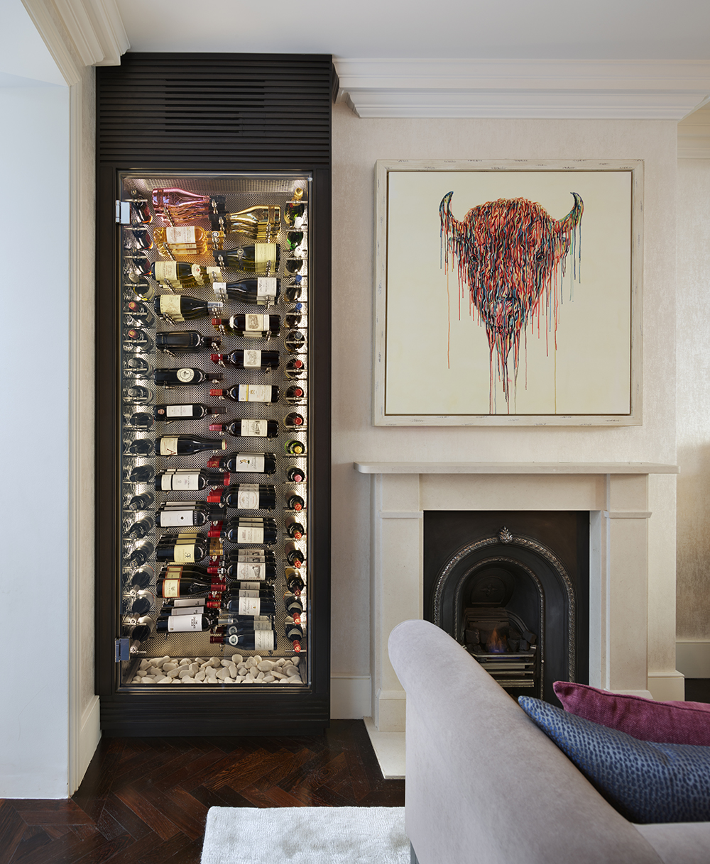 Alcove wine storage. Image: Spiral Cellars
