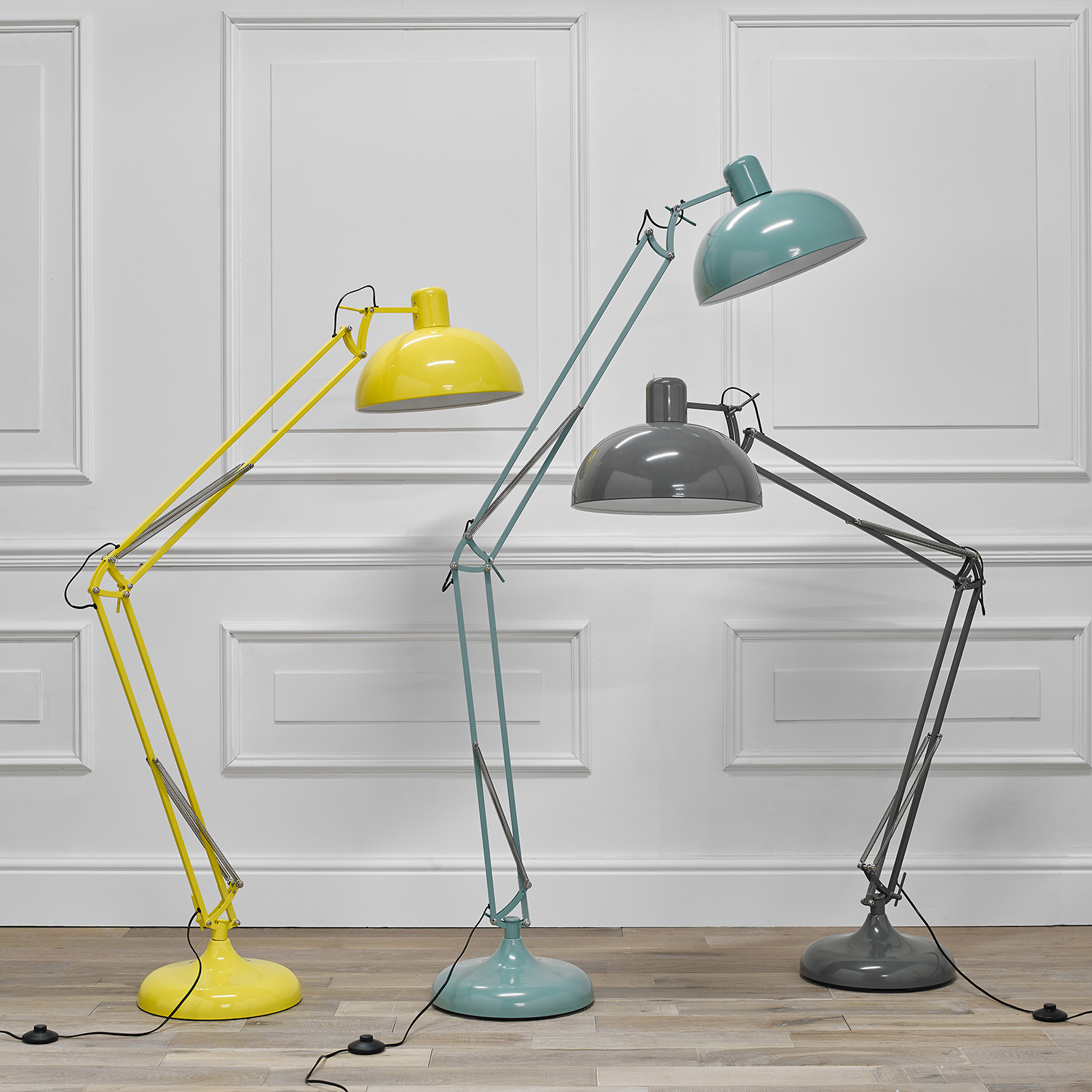 Saturn floor lamps from Room to Sleep