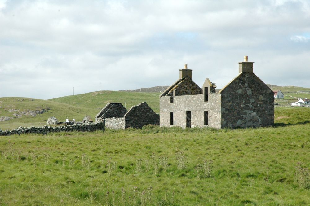 The island include the ruins of two derelict crofter's cottages. Image Vladi Private Islands