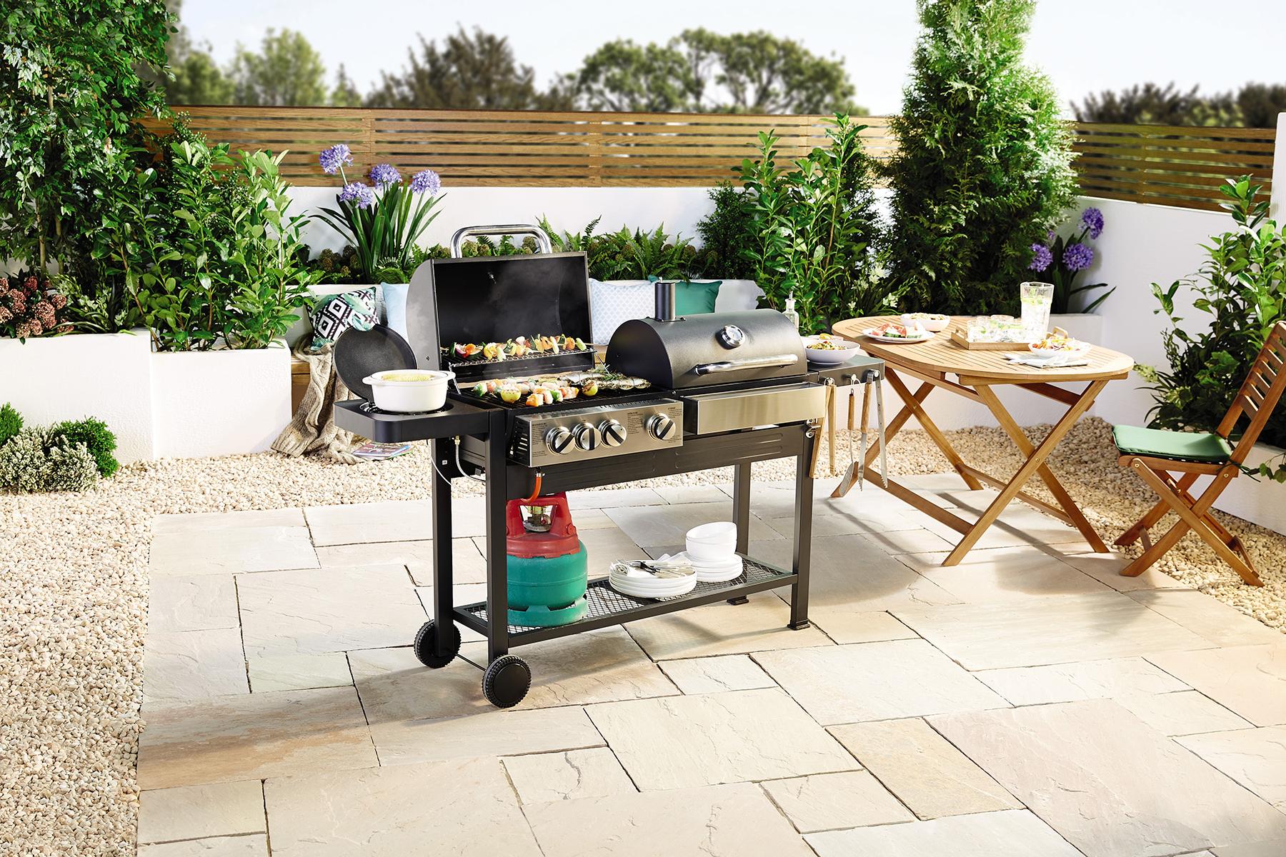 Budget barbecue. Image: Aldi