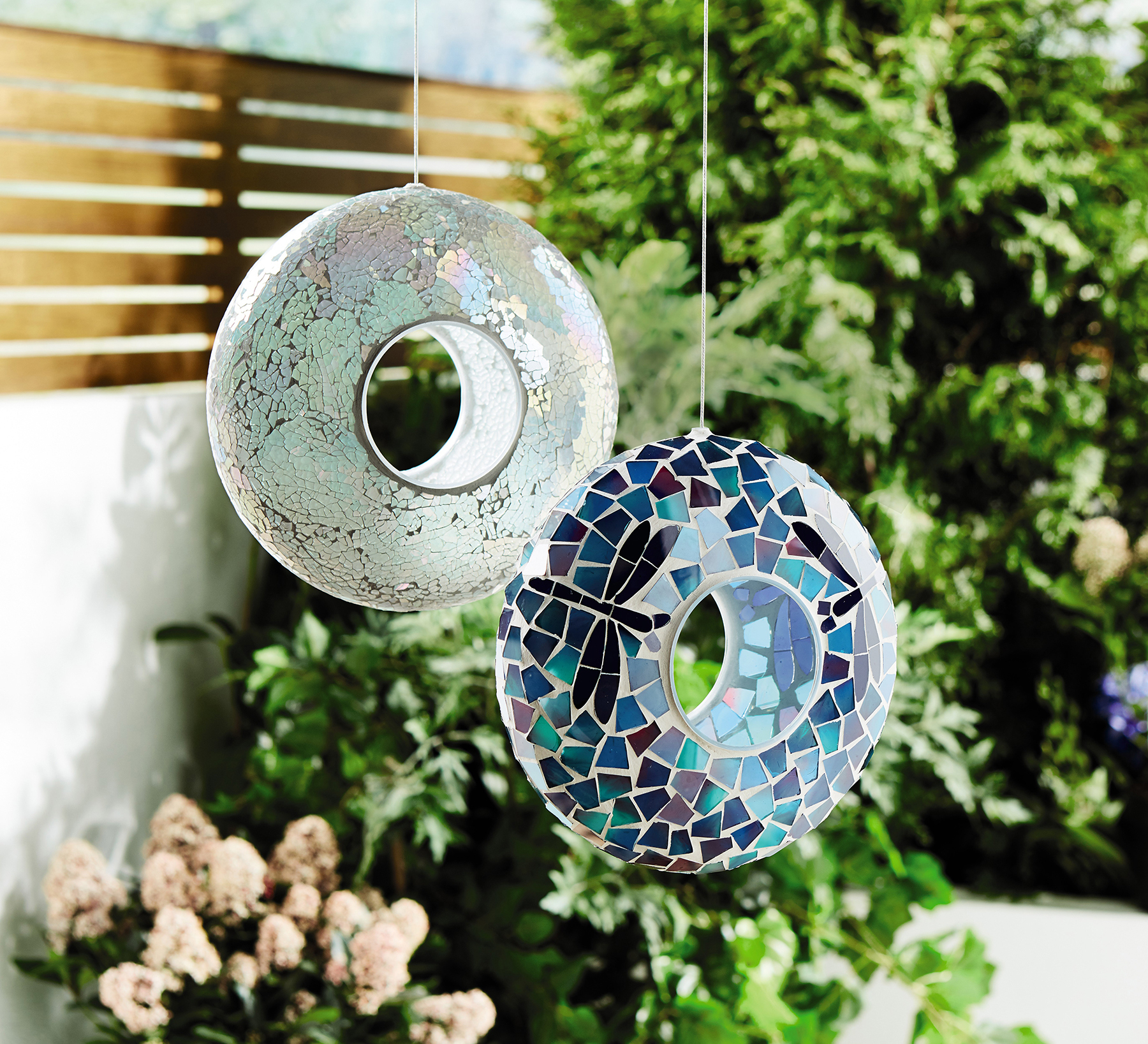 Mosaic bird feeder. Image: Aldi