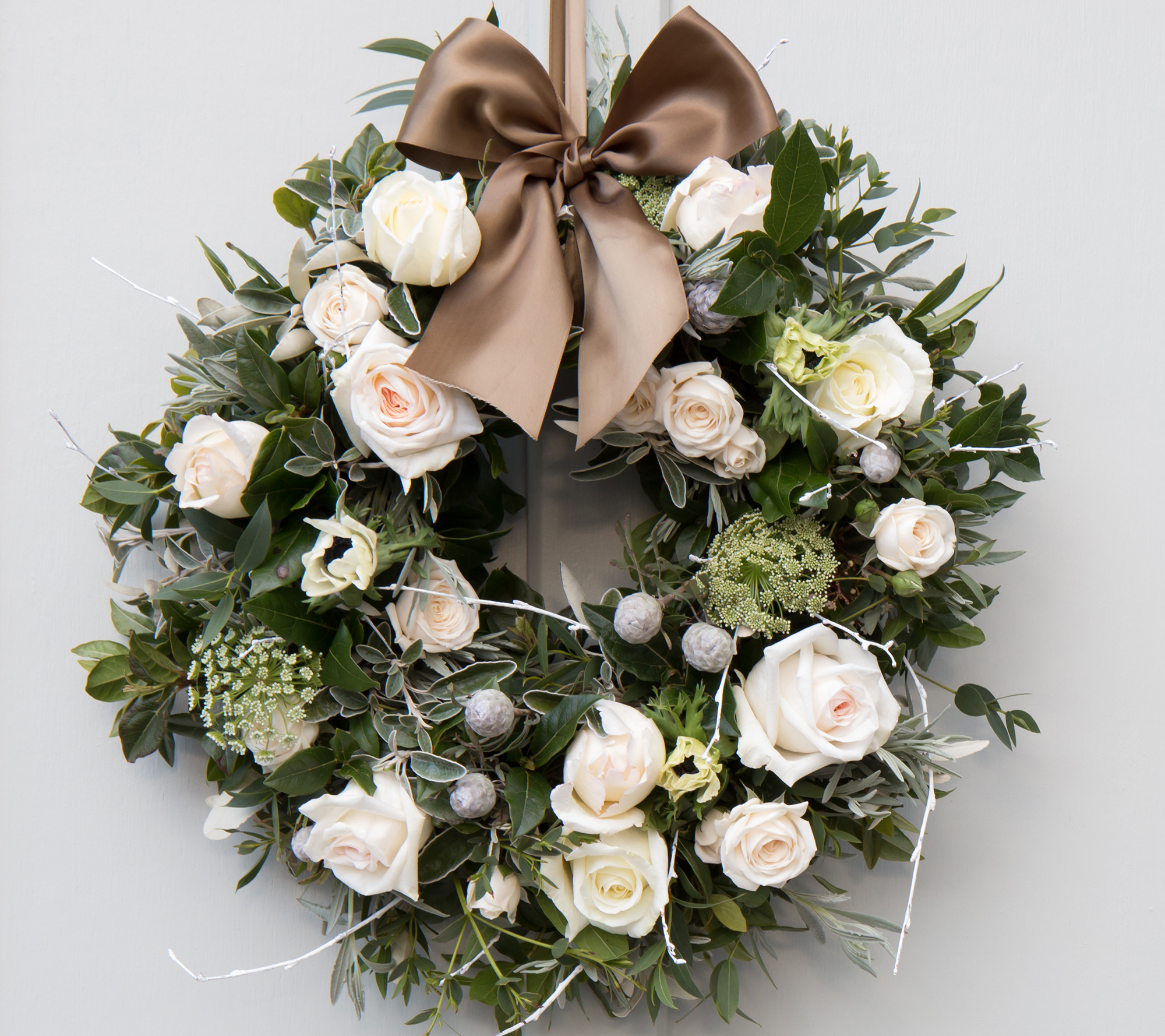 Win a beautiful Christmas wreath worth £115