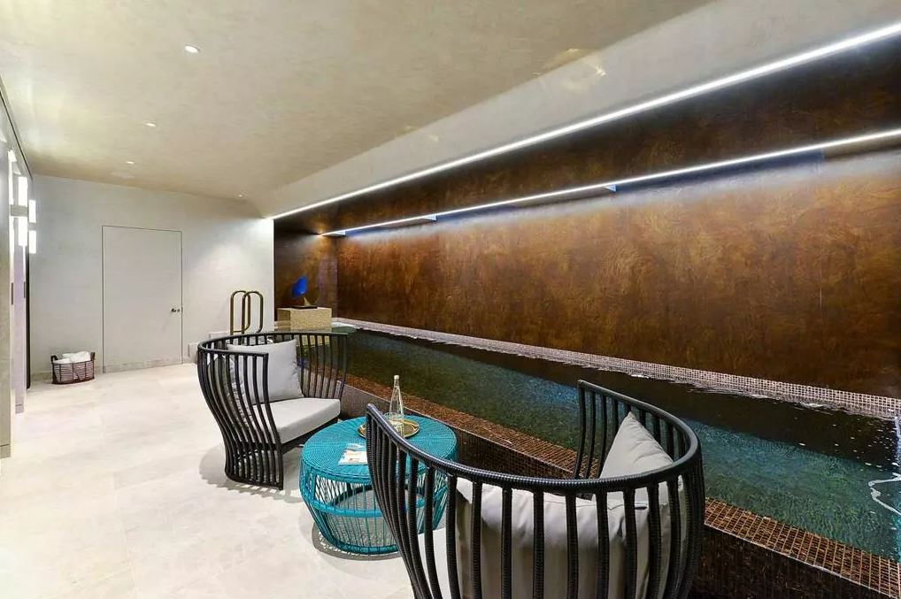 In the basement, there's even a luxurious lap pool. Image: Rokstone, Marylebone via OnTheMarket