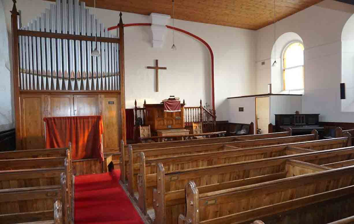 We'd love to see elements of the original church incorporated into a residential scheme. Image: Kivells