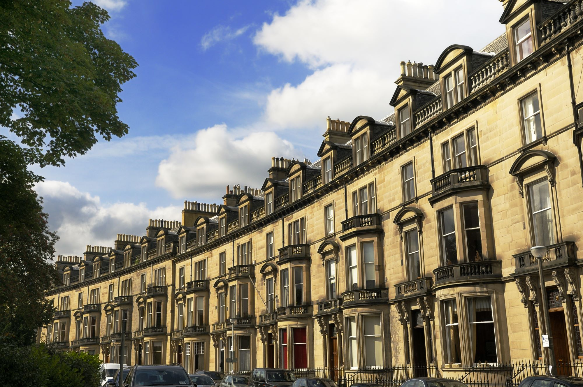 Edinburgh takes second place thanks to its rent controls and relatively low crime rate. Image: StockCube/Shutterstock
