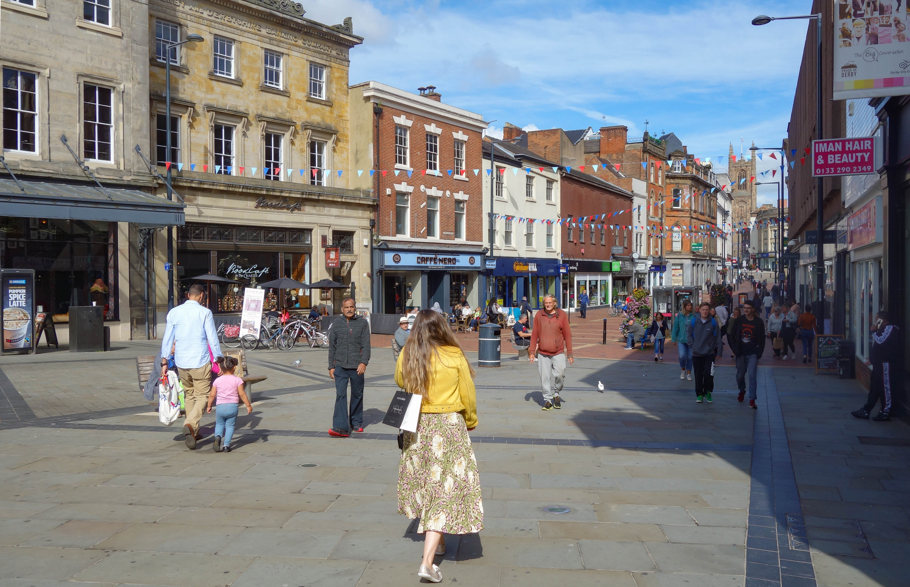Upping sticks to Derby could help renters save for a home. Image: Michael715/Shutterstock