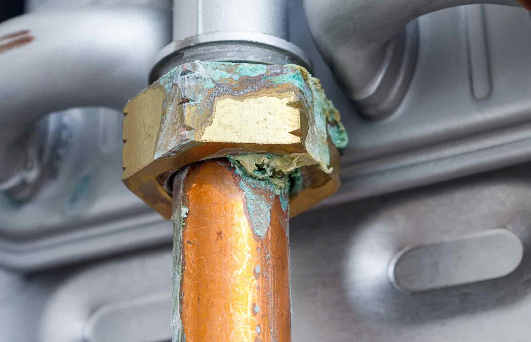A corroded boiler pipe. Image: Yevhen Prozhyrko / Shutterstock