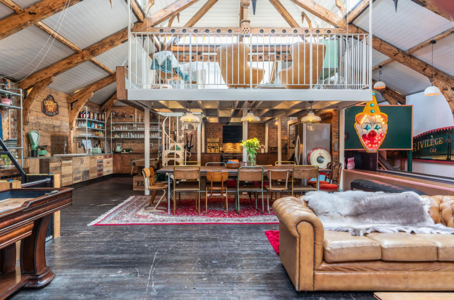 Run away to the circus with this carnival house for sale