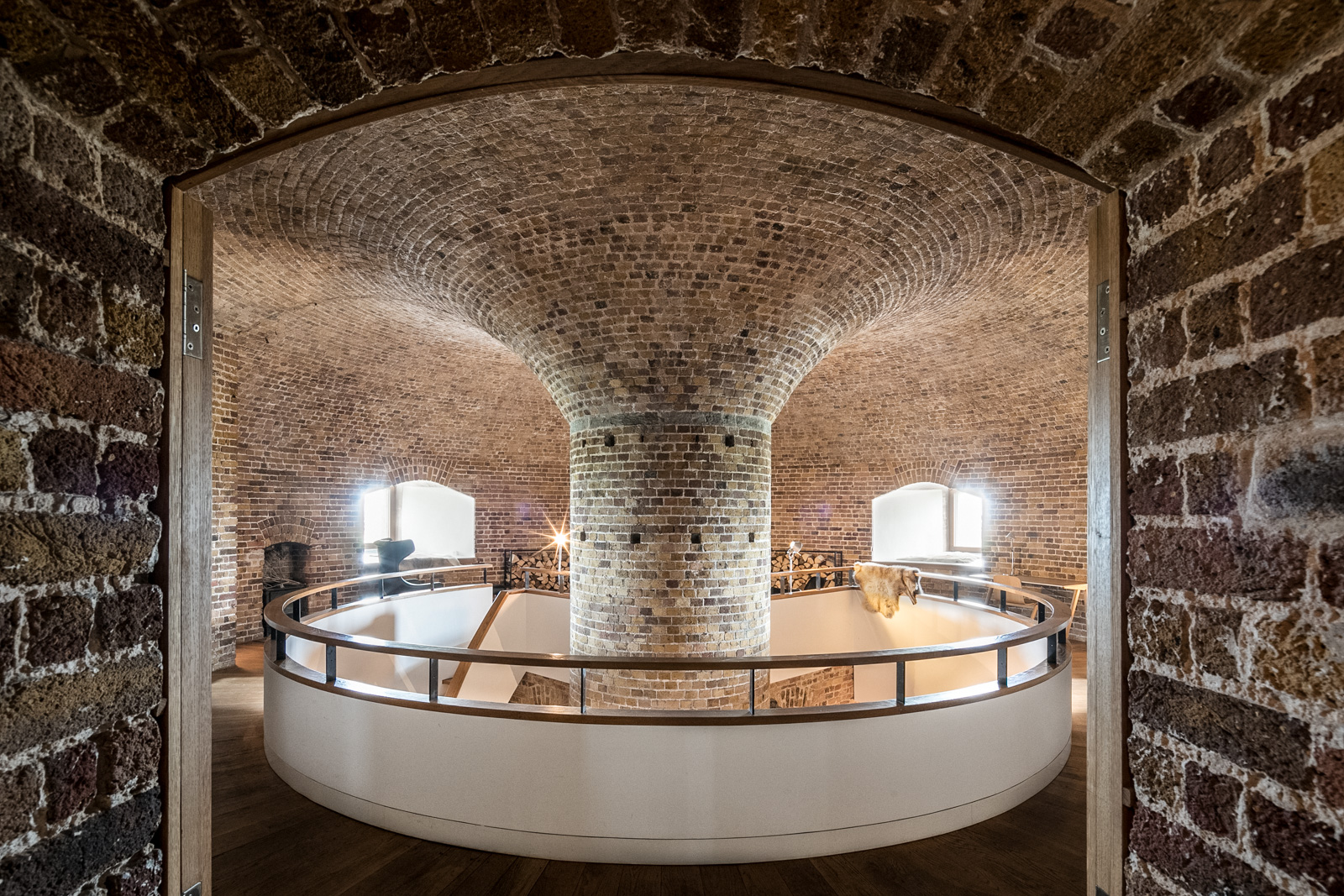 This converted fort for sale in Suffolk is hiding an amazing interior