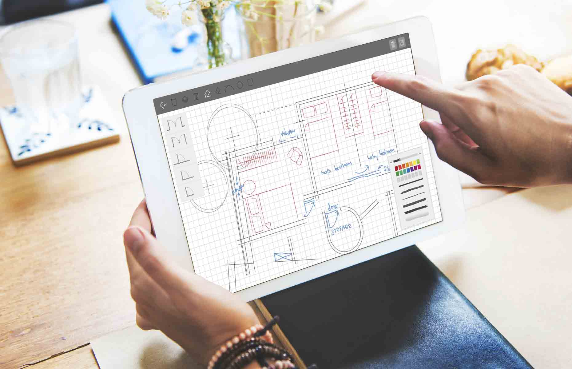 Keep floor plan illustrations as straight-forward as possible. Image: Rawpixel.com / Shutterstock