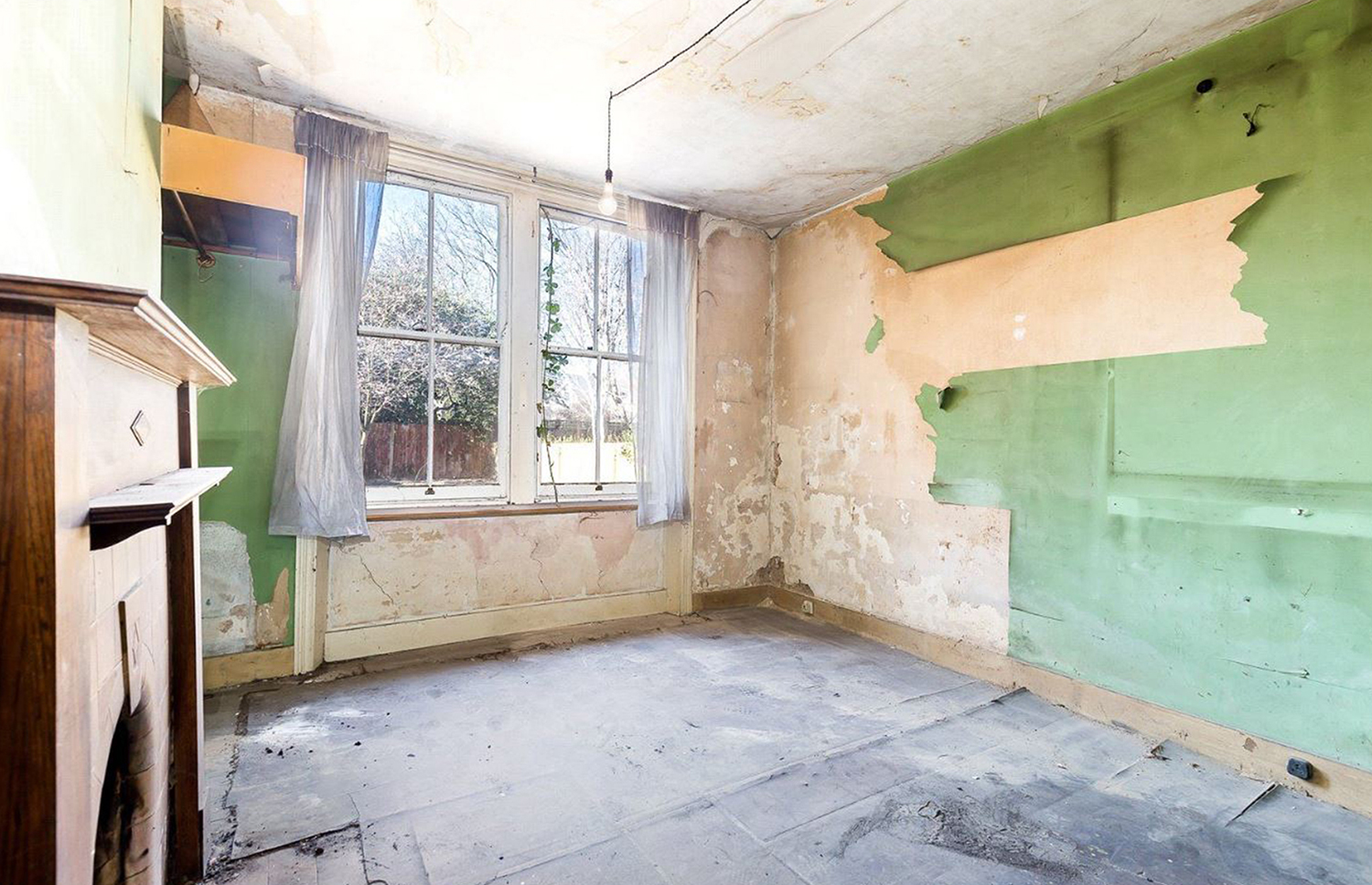 While the residence needs a complete overhaul, it could offer a healthy payback. Image: Savills