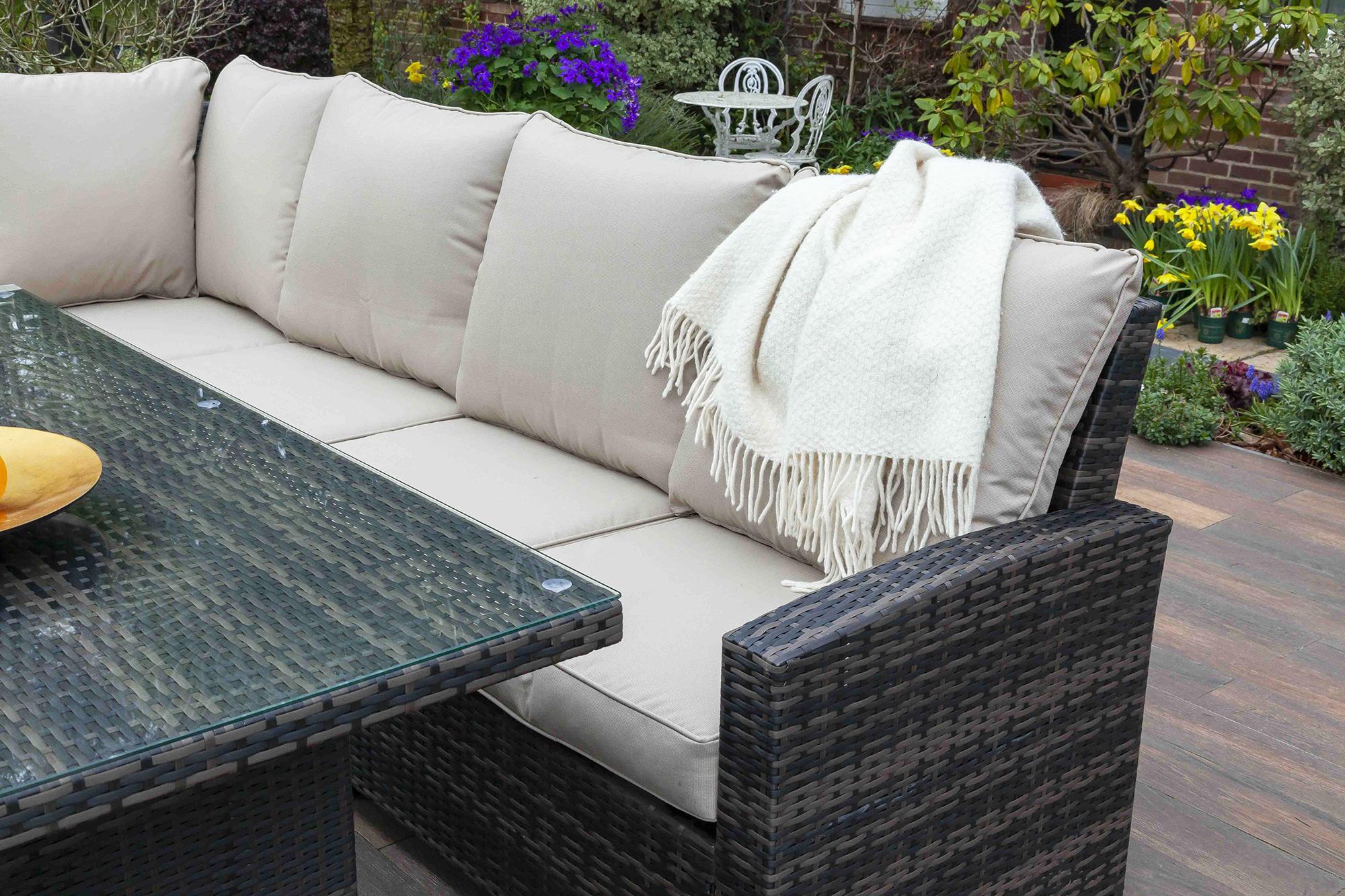 Win an outdoor rattan dining set