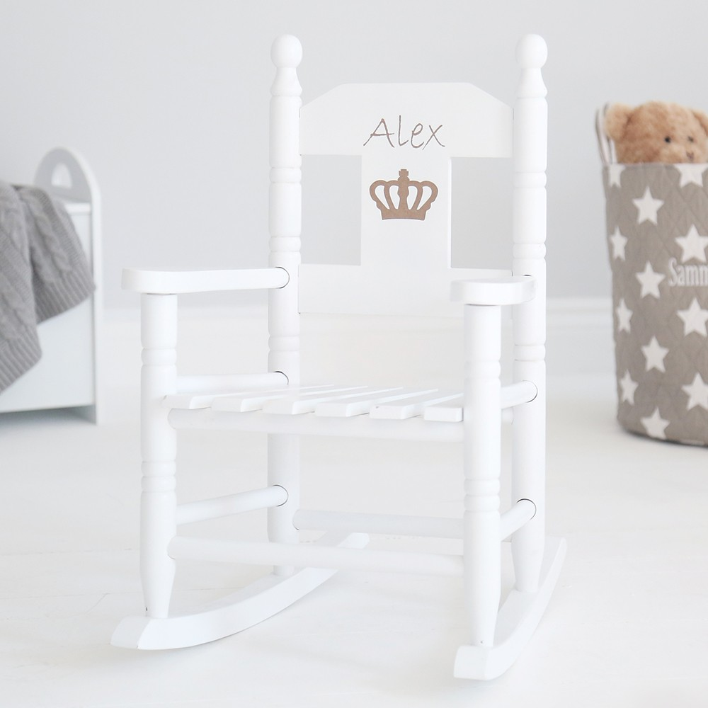 Rocking chair: Royal nursery